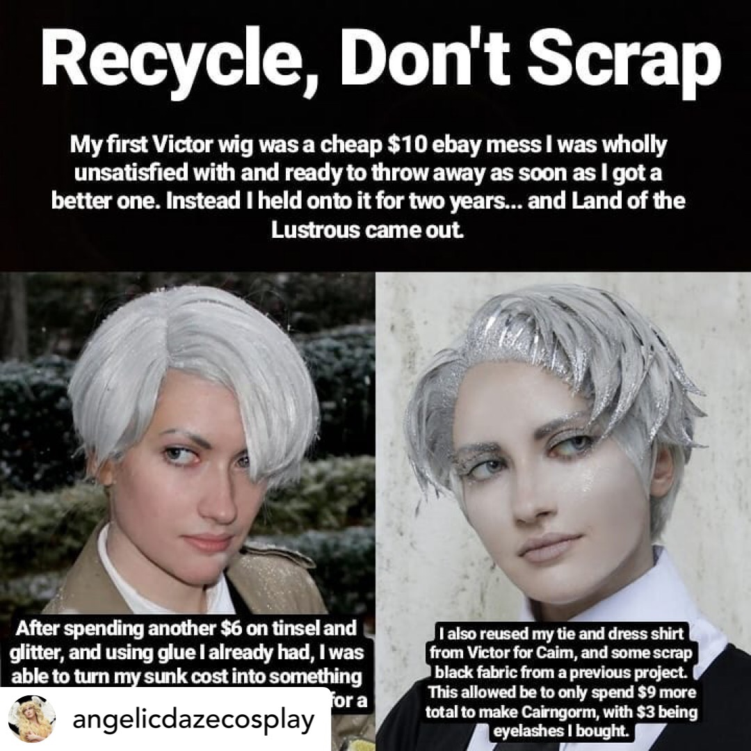 Angelic Daze Cosplay gives advice on upcycling old cosplays.